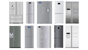 Refrigerators set